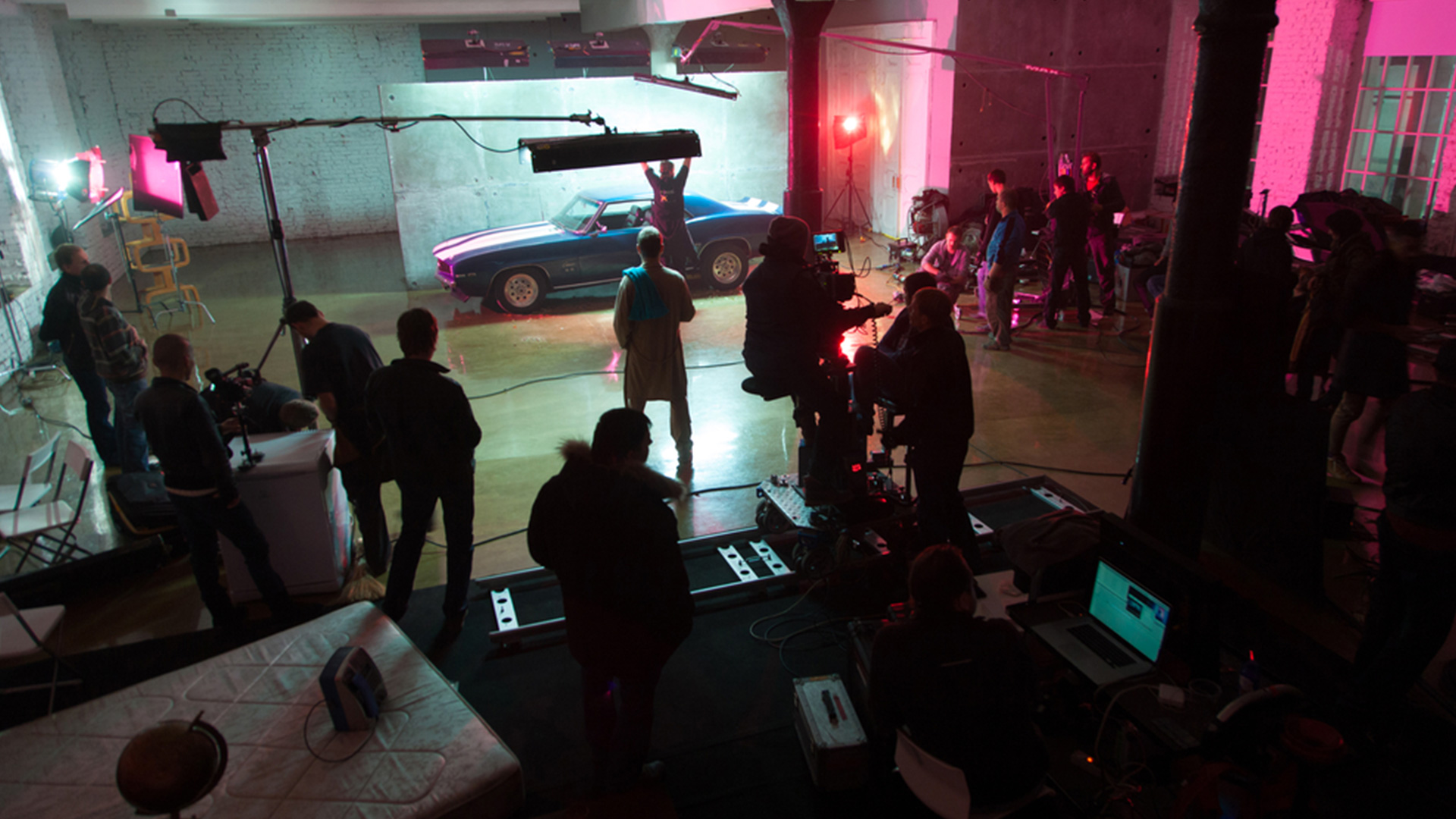 on set directing