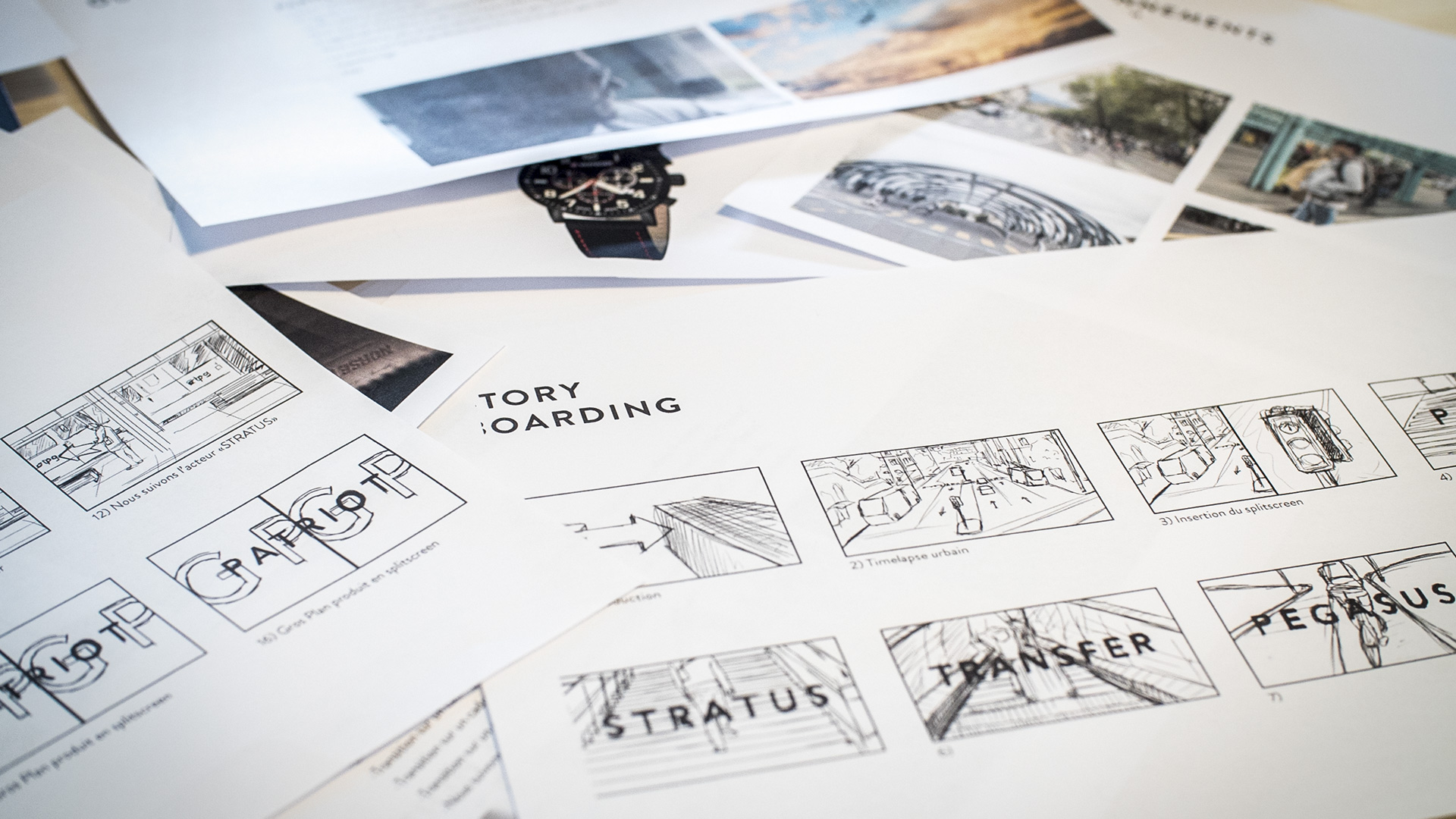 CONCEPT & STORY BOARDING